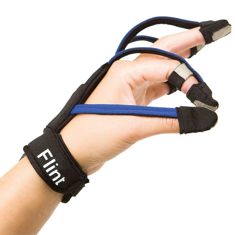 Music Glove: Hand Rehabilitation Therapy Device for Stroke, Spinal Cord Injury, Traumatic Brain Inju (Right Medium)