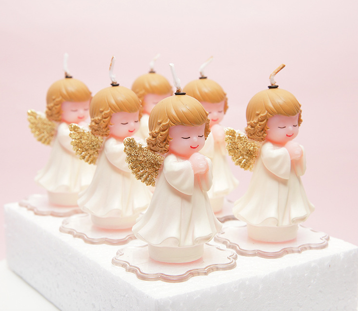 Angel Baby Shower Favors Baby Birthday Favors Gift Candle Buy