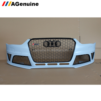 Wholeselling Rs4 Facelift Front Bumper With Grills Front Conversion Body  Kit For Audi A4 S4 B8 5 - Buy A4 B8 5 Front Bumper,Rs4 Body Kit For Audi