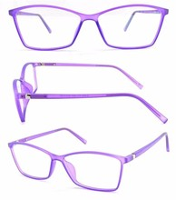 Bright vision colorful TR90 injection optical frames clear