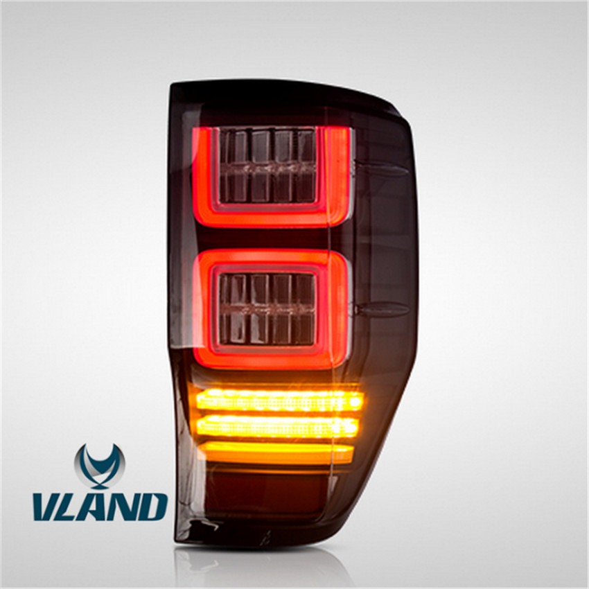 VLAND Factory accessory for car Taillight for Ranger taillight 2015-up full LED <strong>tail</strong> <strong>light</strong> with moving turn signal