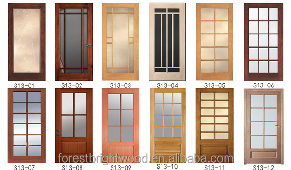 10 Lite Arched Top Wood Glass French Door Interior