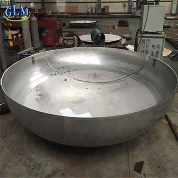 hemispherical torispherical tank head with carbon steel material