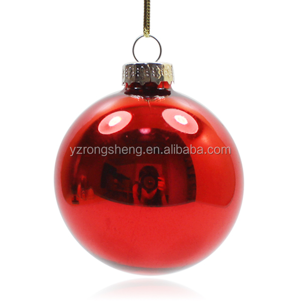 100 Wholesale Colorful Christmas Glass Balls/christmas