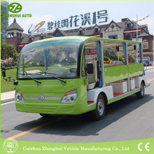 Wholesale green 23 seats electric tour bus for travel