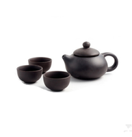 One pot + three cups Yixing clay Teapot