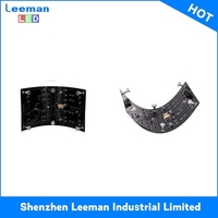 led gird flexible curtain outdoor rental display
