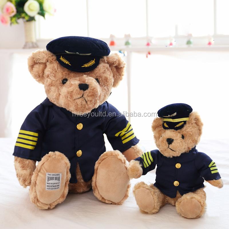 Wholesale Stuffed Animal Customized Plush Toys Teddy Bear