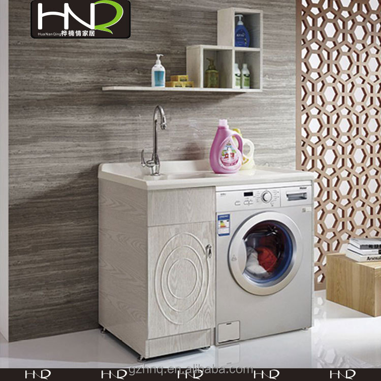 Mueble lavadero y lavadora 20170814213542 for Lavadero para bano
