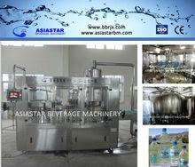 8000BPH 250ml-500ml 3 in 1 monoblock water filling system