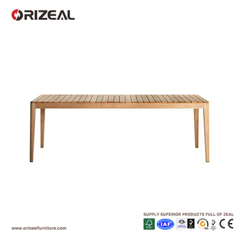 Outdoor Teak Wooden Dining Table OZ-OR077