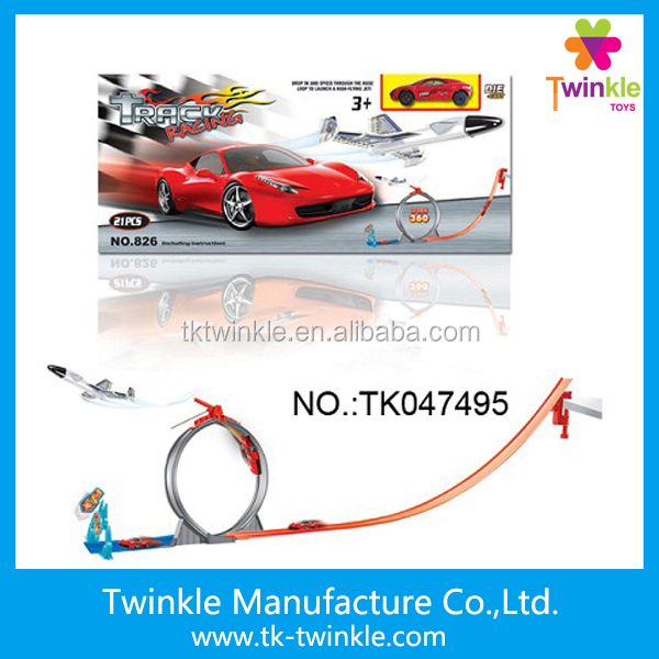 Wholesale slot racing car track toys set