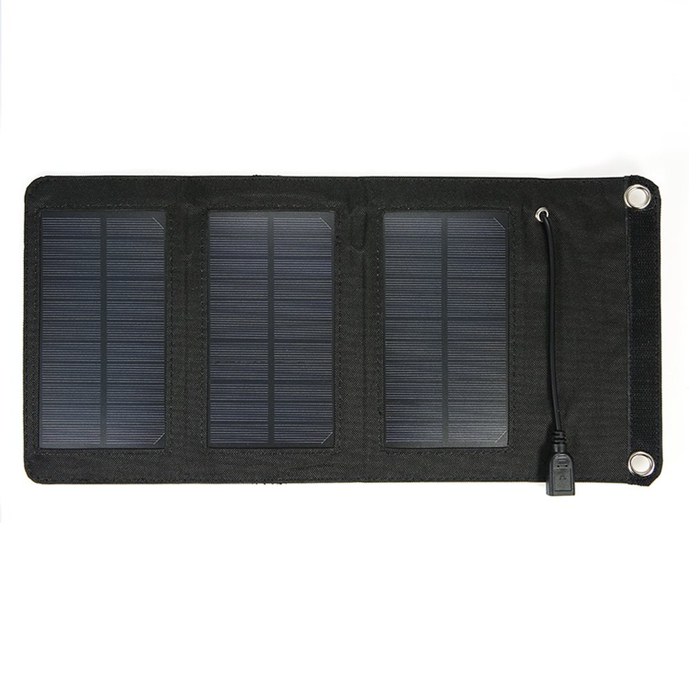 Chargers Symbol Of The Brand Portable 7w 5v Folding Waterproof Solar Panel Charger Mobile Power Bank For Phone Battery Outdoor Solar Intelligent Control