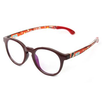 0242ccdde3 Bebé de gafas de dibujos animados impreso negro Tr90 niños marcos ópticos  para la comercialización de