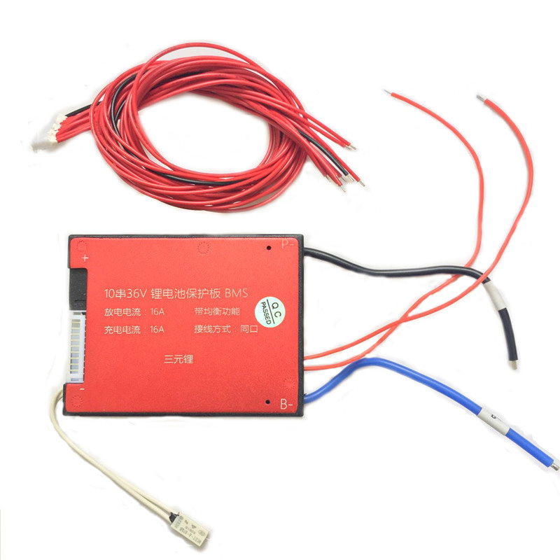 10S 36V 15A BMS For 18650 Lithium Battery With Balance and Temp Sensor,  View BMS For Lithium Battery, CLRD Product Details from Shenzhen E-Fire
