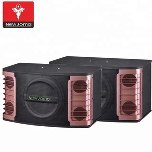speaker karaoke system passive speaker box with big subwoofers