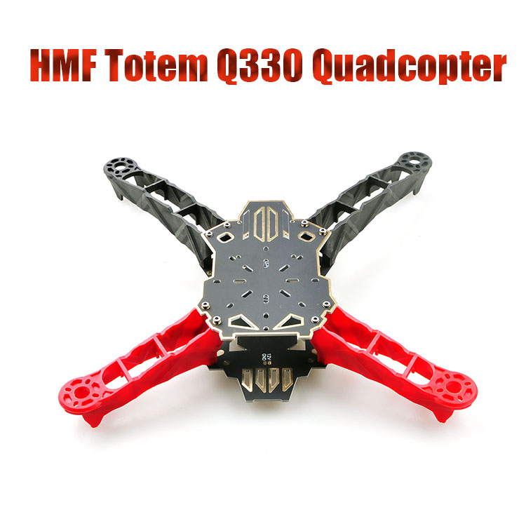F11797 HMF Totem Q330 Caron Fiber Alien Quadcopter Across Frame Kit For