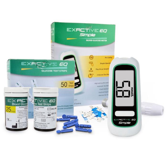 tiras de prueba de diabetes de azúcar