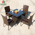 Cafe Furniture Outdoor Leisure Chair PE Rattan Chair For Your Garden Or Backyard