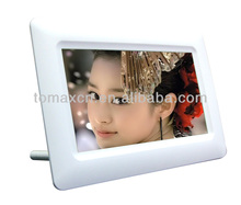 Hot sale Sex digital photo frame video free download 7""