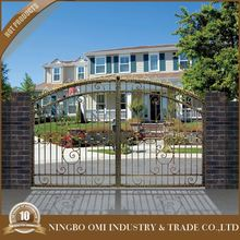 Easy install iron gates / metal door gates system