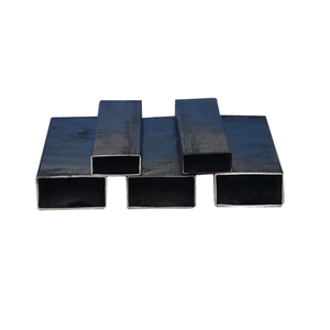 Ms Hollow Section Black Mild Steel Rectangular Square Pipe/Tube Per Ton