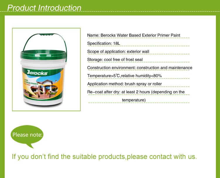 Hot Sale Water Based Exterior Primer Paint/exterior Paint Part 84