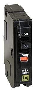 Your One Source QO120CP 20-Amp 1-Pole Plug-On Circuit Breaker, Model: QO120CP, Tools & Hardware store