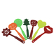 7pcs nylon household kitchen utensils cooking tools set for christmas