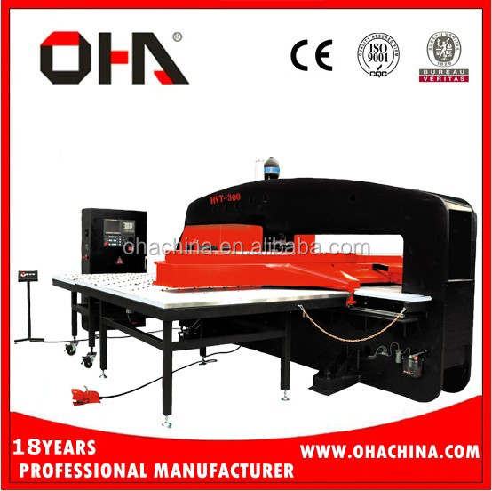 "OHA"" Brand VT-800 High Quality Closed Hydraulic Cnc Turret,Closed Hydraulic Cnc Turret/ Cnc Turret Punch Press, Cnc Turret Punch"