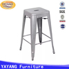 Metal used commercial furniture industrial vintage bar stools high bar stool