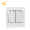 Home 10a 220v 250v multi function 4 gang 1 2 way light switch