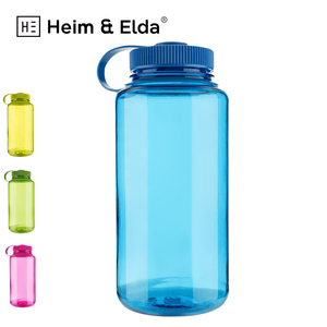 Factory Promotional 1 Liter 1000ML Big Capacity Plastic Pvc Empty Clear Travel My Hot Plastic Water Bottle