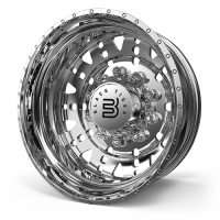 Black Tiger - Forged offroad Wheel 26x16 Wheel Polished