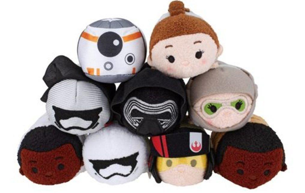 Disney - Star Wars: The Force Awakens Mini ''Tsum Tsum'' Plush Collection set of 9
