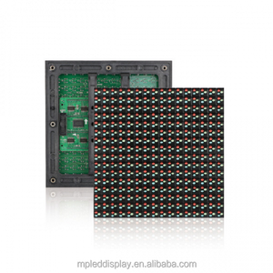 High quality low price display board material Programmable 32x32 dip p10 rgb led module