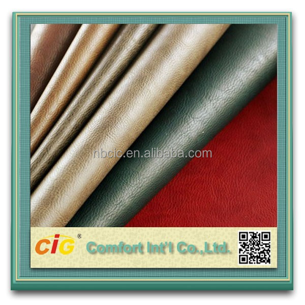 PVC/PU Artificial Leather For Car Seat Cover