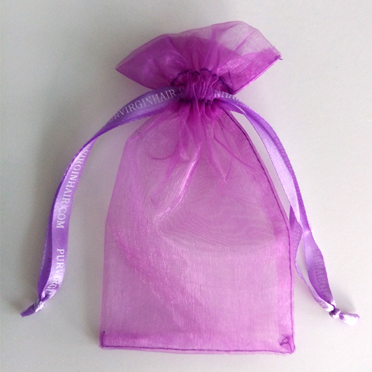 New Fashion wholesale Hot Pink color organza bag