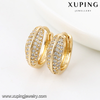 92051-Xuping New year charming 18k earring jewelry supplies