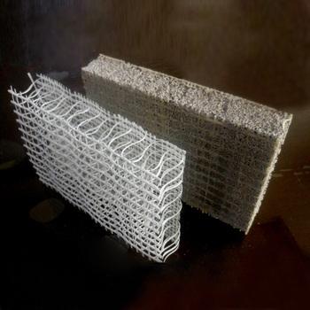 Good quality 3d grp foam concrete board glass fiber for Foam concrete walls
