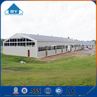 Low Cost Prefab Layer Chicken Shed For Philippines