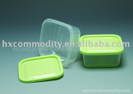 1L food grade PP plastic food container plastic seal box