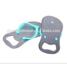 Bottle opener in shoes shape, new design in good appearance for factory direct suppliers