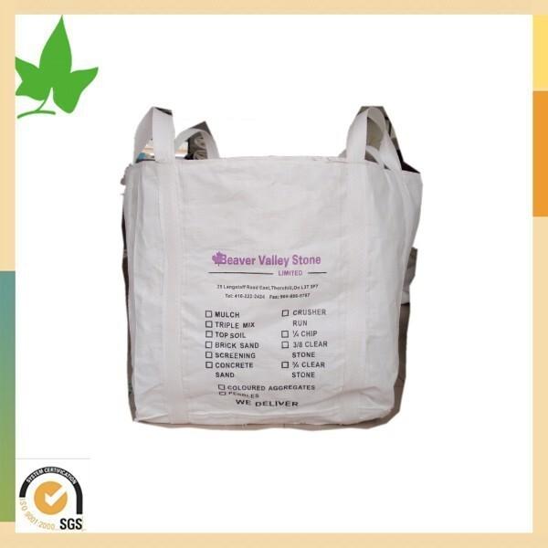 Venta caliente pp tejida bolsas de contenedores a granel - Bolsas para escombros ...