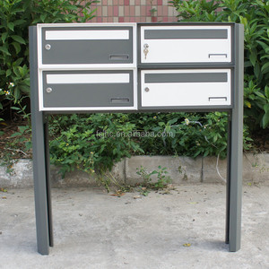 Commercial combination lock mailbox/ cluster standing mailbox/ locking office mailboxes