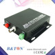 1channel Hdtvi/cvi/ahd To Video Fiber optical Converter With 1ch Half Duplex Rs485 Video Capture Bnc