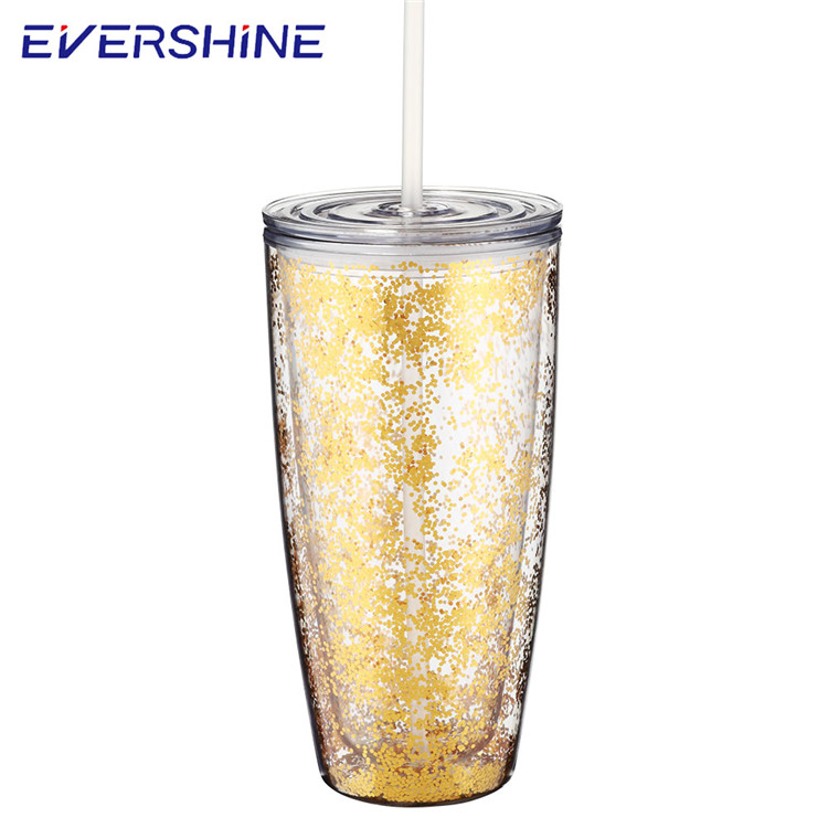 Good price 24oz mighty plastic drinking water cup mug with straw