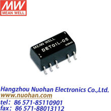 Mean Well 1w dc dc converters 1W Dual output converter converter 1w/switching power supply +9v -9v