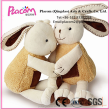 High-Quality Cute Original Special Stuffed Elegant Rabbit Toy Animal with Fine Clothes Plush Doll for Wholesale