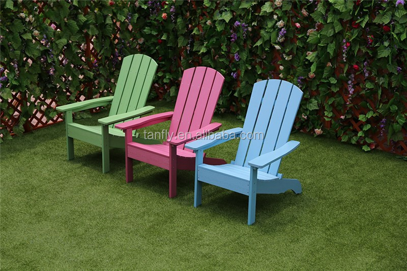 Stackable Plastic Wood Adiro<em></em>ndack Chairs for Outdoor